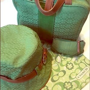 Hat scarf coin purse bag